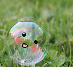 I'm your bubble!