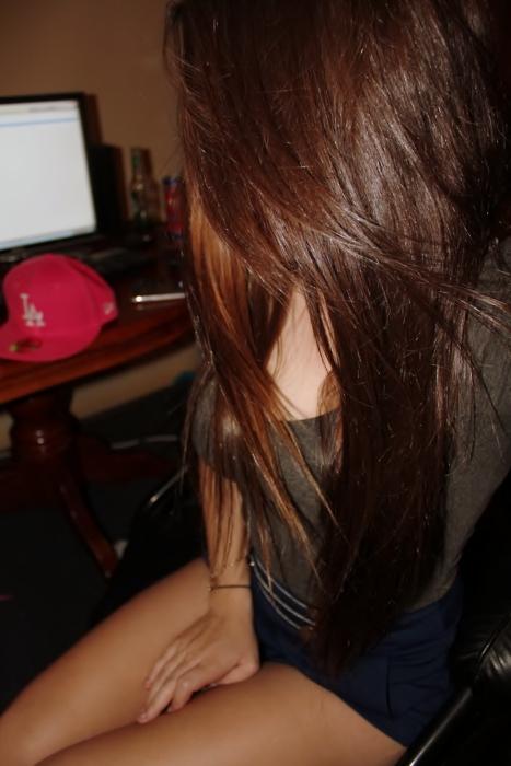 Got my brown hair Back T T