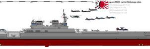Aircarft Carrier Nobunaga class by Davinci975