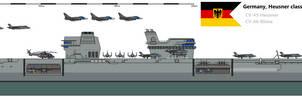 Heusner class aircarft carrier by Davinci975
