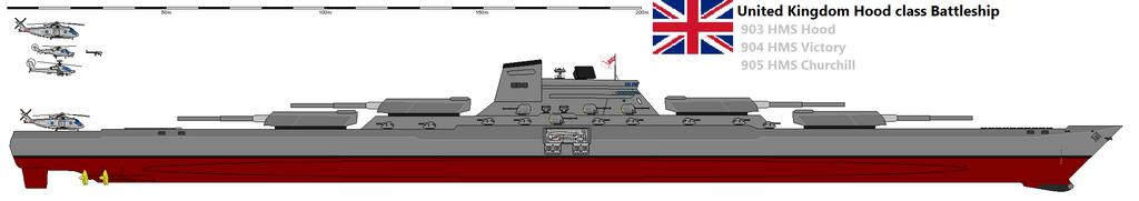 Hood class battleship by Davinci975