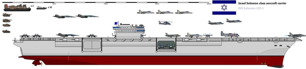 Solomon class aircraft carrier by Davinci975