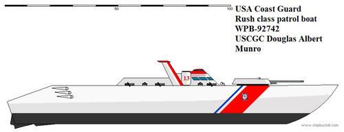 US Coast Guard Rush class patrol boat by Davinci975