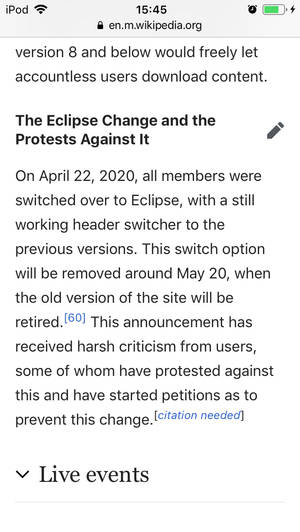 More proof people dont want eclipse