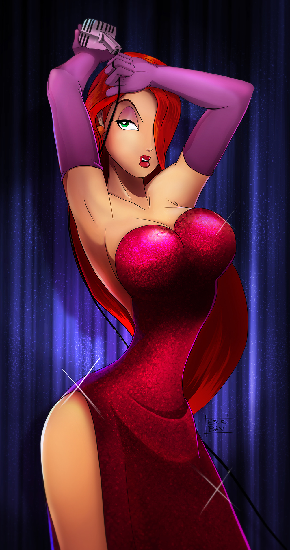Jessica Rabbit by Teban1983