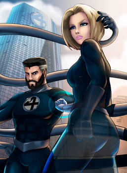 Sue Storm and Reed Richards