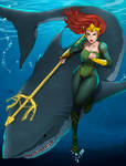 Queen Mera by Teban1983