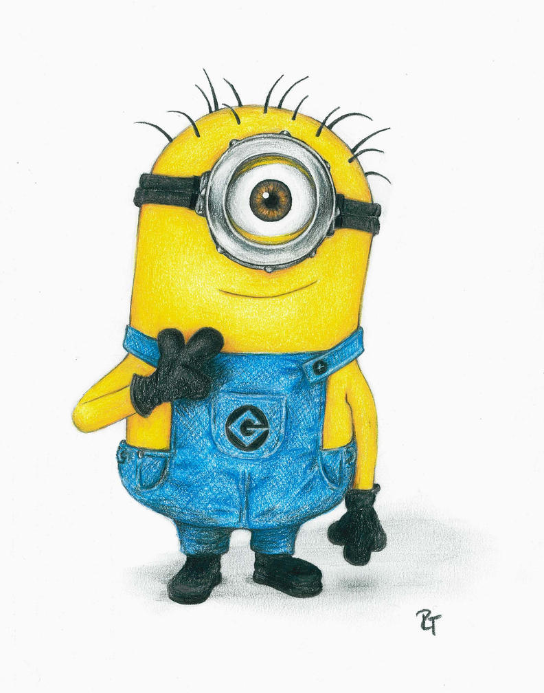 Minion Carl Drawing | www.pixshark.com - Images Galleries ...