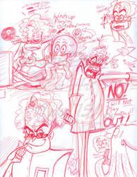 Octavius Brine Sketchdump