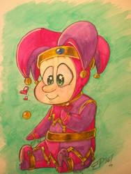 Mr. Jingles Chibi (Watercolor)