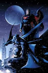 Batman and Superman by JPRart