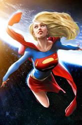 Supergirl by JPRart