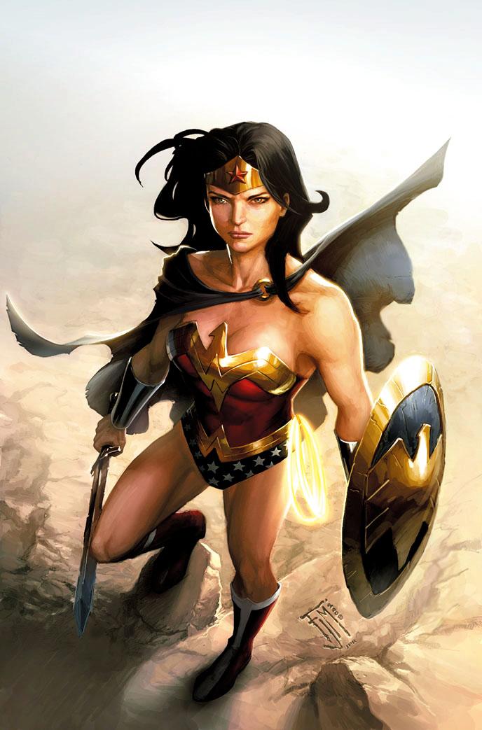 Tournoi des Personnages Préférés DC Comics (on vote pour nos persos préférés, on ne se base pas sur la force) - Page 12 FJM_Wonder_Woman_by_JPRart
