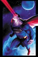 J.J. Kirby's Superman by JPRart