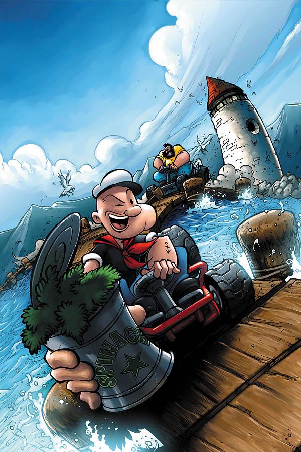 Popeye by JPRart