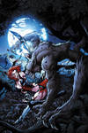Bloodrayne Lycan cover