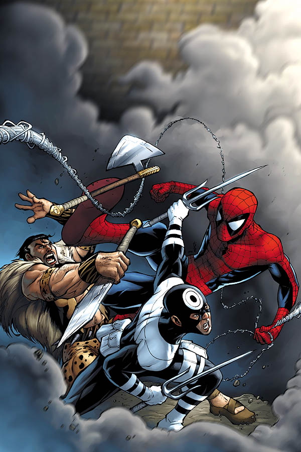 Spectacular Spider-Man cover 3