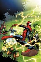 Spectacular Spider-Man cover 4 by JPRart