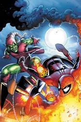 Spectacular Spider-Man cover 5 by JPRart