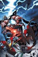 Spectacular Spider-Man cover 9 by JPRart