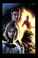 Fantastic Four sketch by JPRart