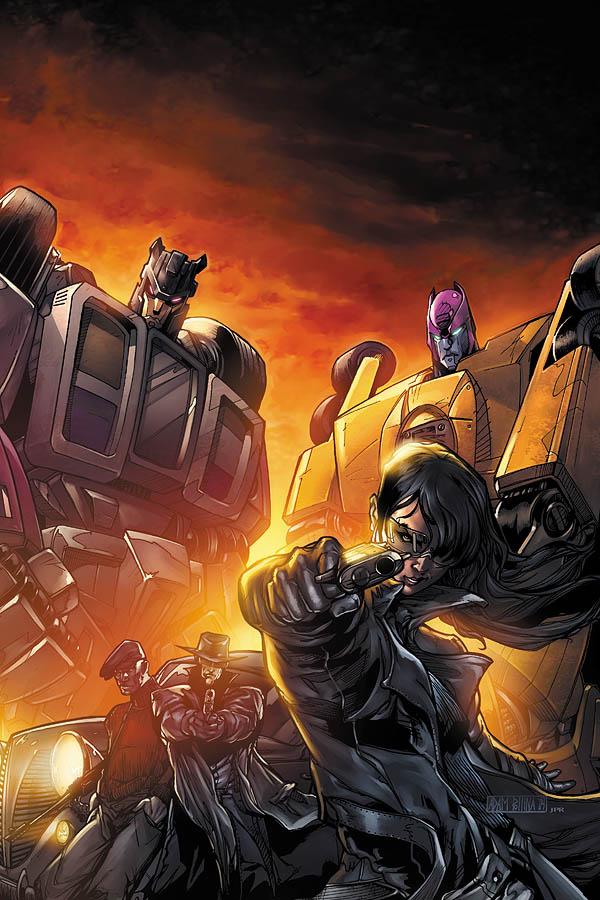 G.I.Joe vs Transformers cover3 by JPRart