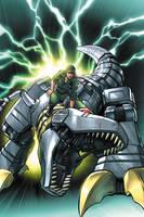 G.I.Joe vs Transformers cover2 by JPRart