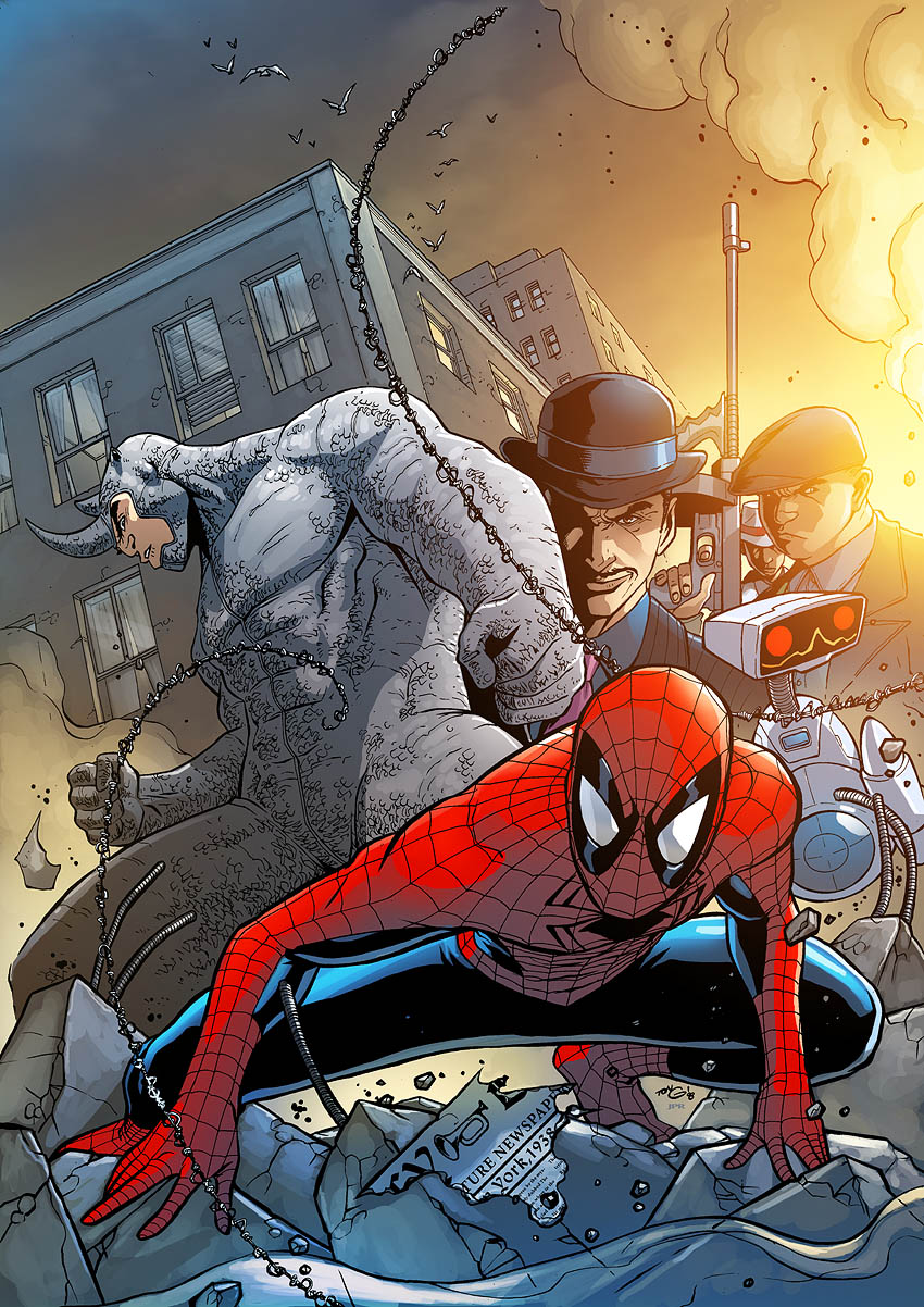 Spectacular Spider-Man cover12