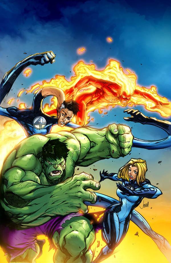 Marvel Adventures FF by JPRart