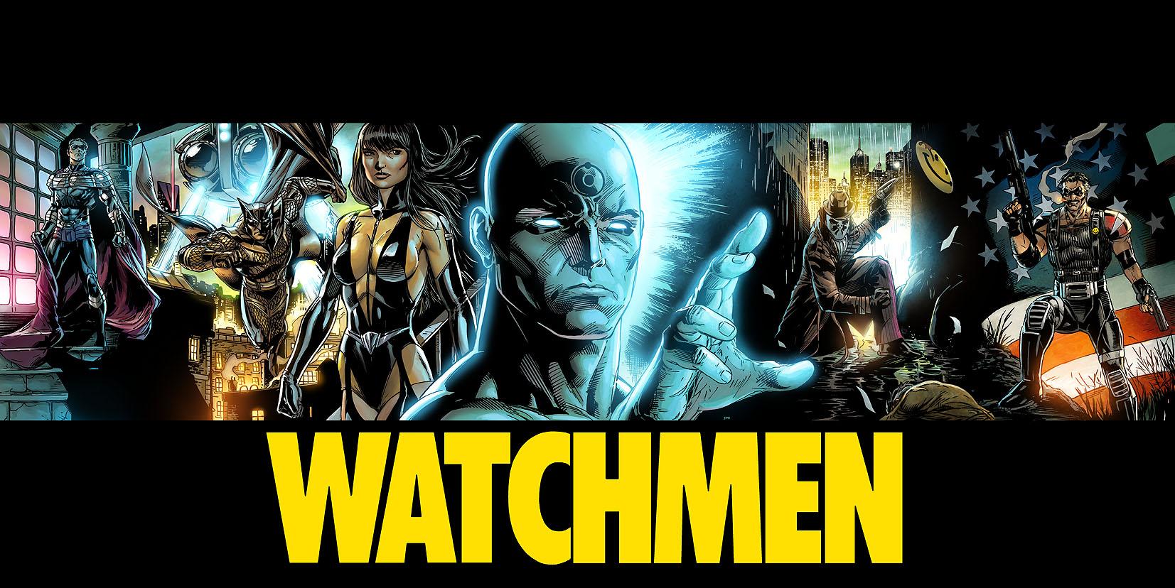 Watchmen Color by JPRart