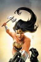 Wonder Woman 32 by JPRart
