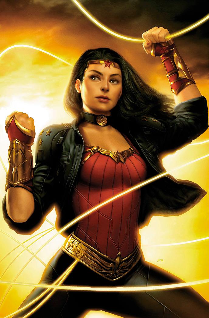 New Wonder Woman by JPRart