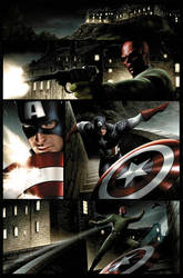 Captain America page 1
