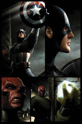 Captain America page 2