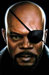 Nick Fury by JPRart