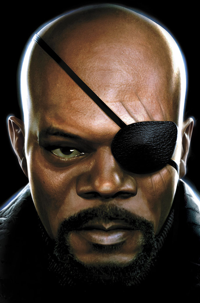 Nick Fury by JPRart