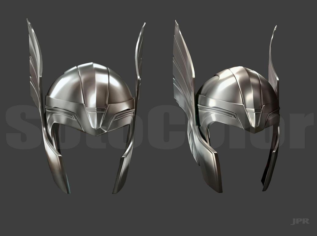 Thor Helmet by JPRart