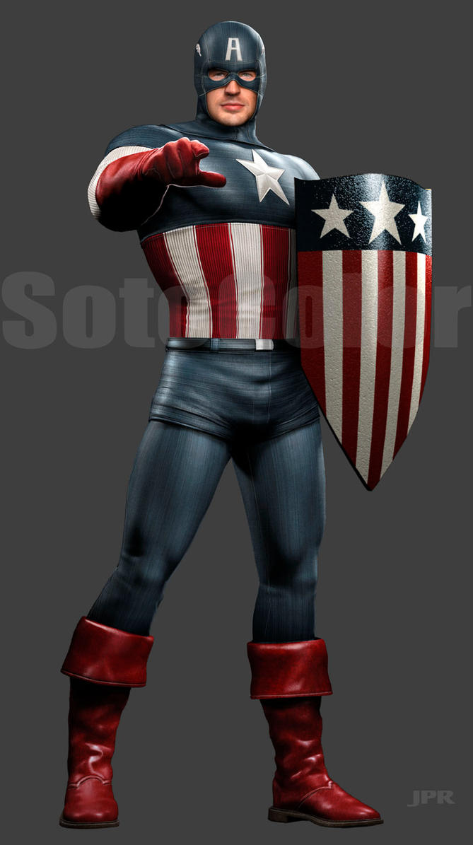 USO Captain America 2 by JPRart
