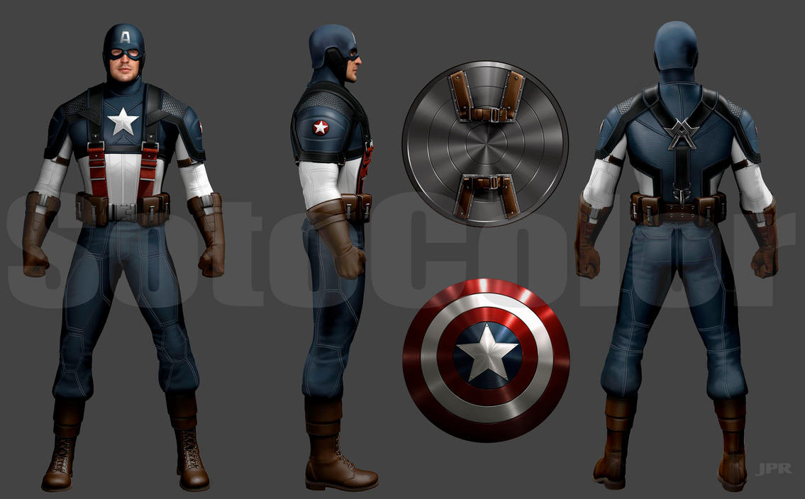 Captain America  Turnaround by JPRart