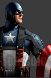 Captain America 5 detail