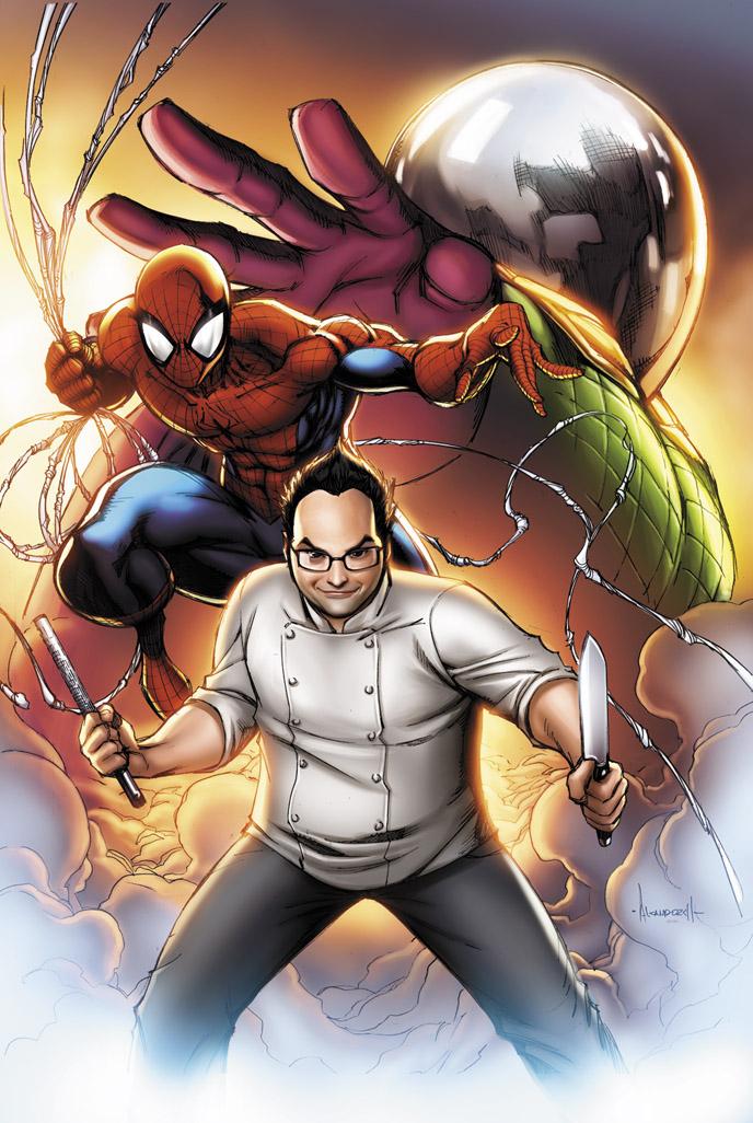 Top Chef Spider-Man by JPRart