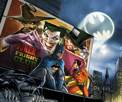 Batman: Joker's Fright Club by JPRart