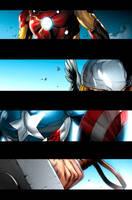 Pet Avengers pg1 by JPRart