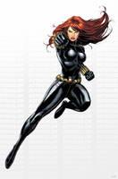 Avengers Black Widow by JPRart
