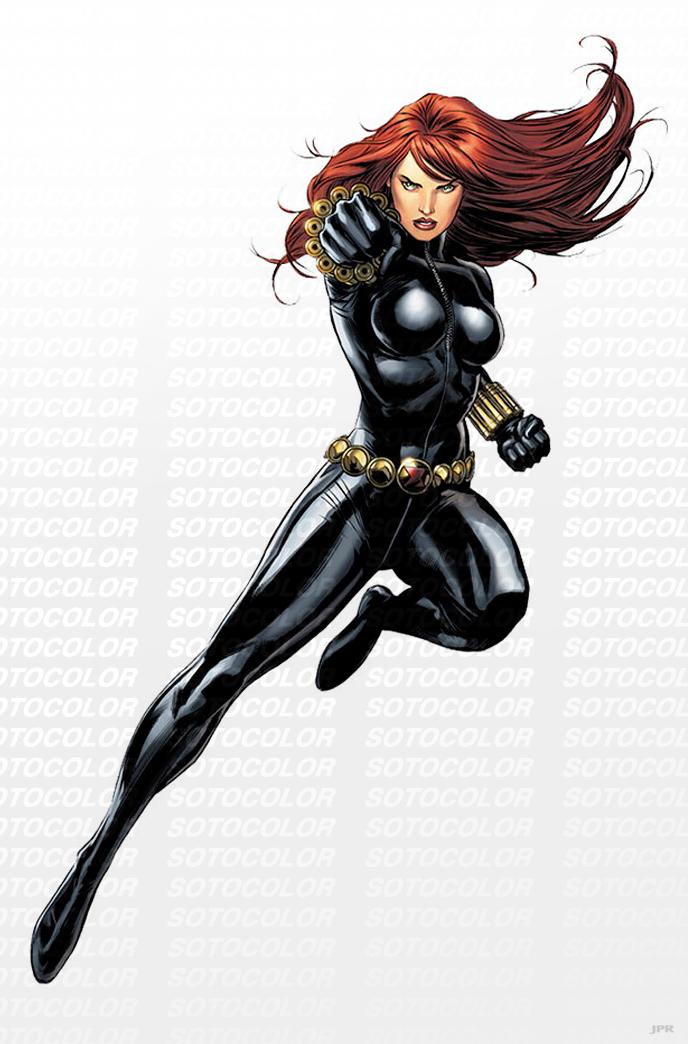 Avengers Black Widow by JPRart on DeviantArt
