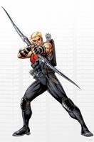 Avengers Hawkeye by JPRart