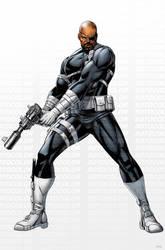 Avengers Nick Fury by JPRart