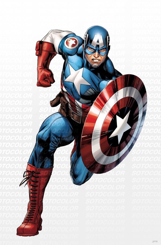 Avengers Captain America by JPRart