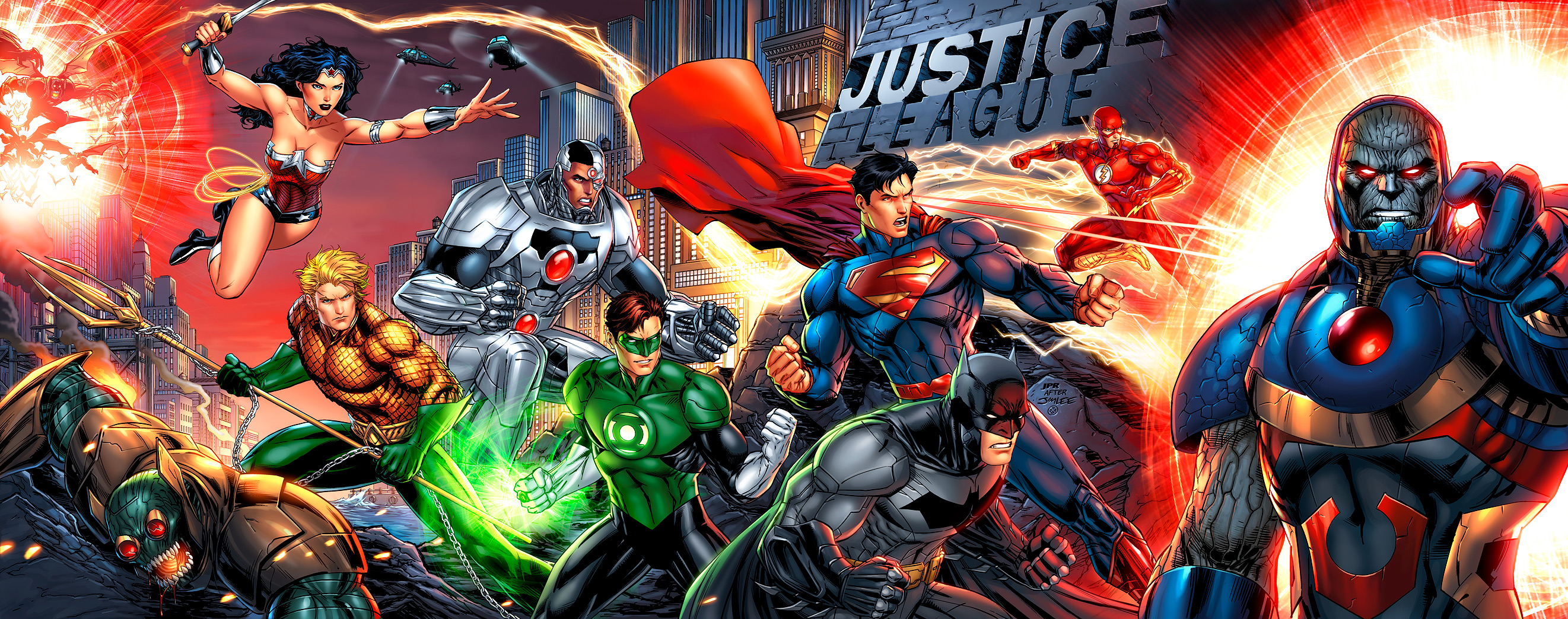 Justice League by JPRart on deviantART