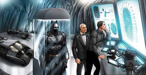 Dark Knight vs Catwoman 12-13